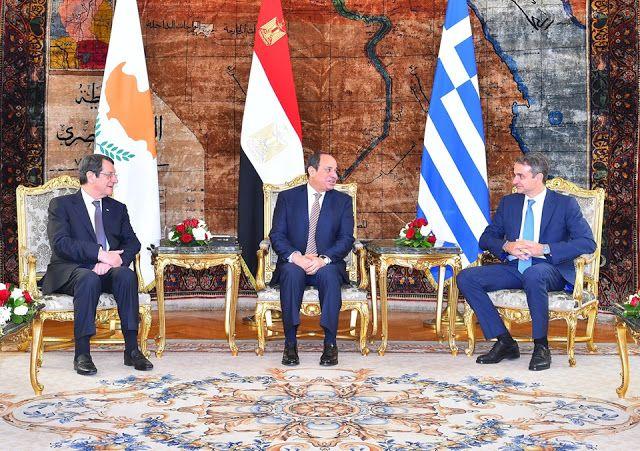 إعلان ا مشترك ا يصدر عن قمة التعاون الثلاثي بين مصر وقبرص واليونان Places To Visit Visiting Blog Posts