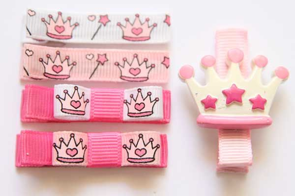 Princess Crown Collection Bows