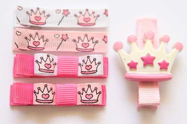 Princess Crown Collection Bows