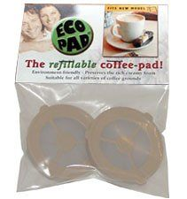 Ecopad,the Refillable Coffee Filter for the Classic Senseo ?pack of 2): Amazon.com: Kitchen & Dining