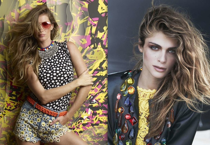 #13 then & now…who worn best 90's hair …Gisele (Vogue Brazil 06/12) or the 90's unkown beauty…?90S Fashion, The 90S, 90S Hair