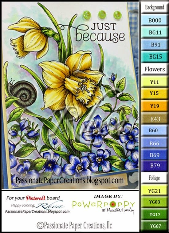 Power Poppy Stamps Has A NEW Release Today Its Digital Stamp Set And Copic PensCopic MarkersAlcohol