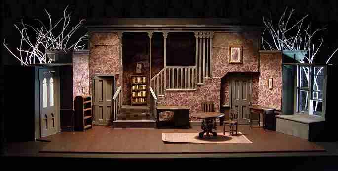 Arsenic & old lace set design.