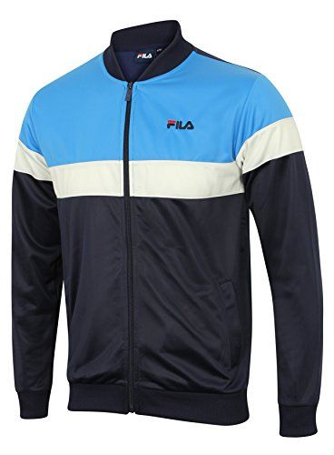 Fila Mens Fila Mens Poly Track Top in Navy - XL Mens Fila Poly Track Top in navy.- Contrast ribbed bomber collar. - Full zip up front.- Long sleeves with ribbed cuffs. - Ribbed hem.- Side front pockets. - Embroidered l (Barcode EAN = 5054598231679) http://www.comparestoreprices.co.uk/december-2016-5/fila-mens-fila-mens-poly-track-top-in-navy--xl.asp