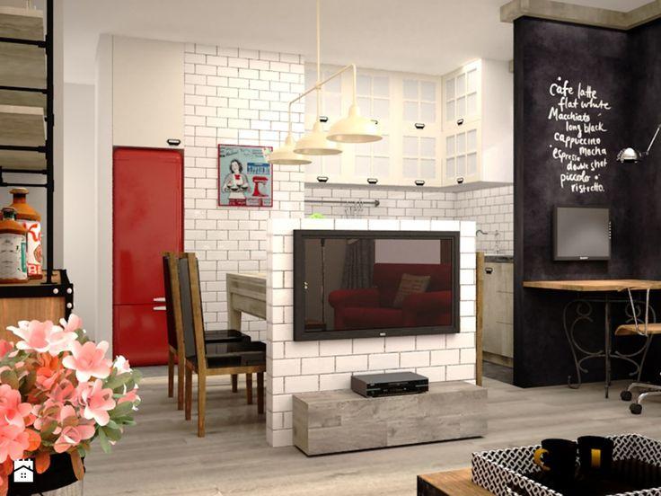 Salon styl Industrialny - zdjęcie od SCENERIA Julia Bodzioch - Salon - Styl Industrialny - SCENERIA Julia Bodzioch
