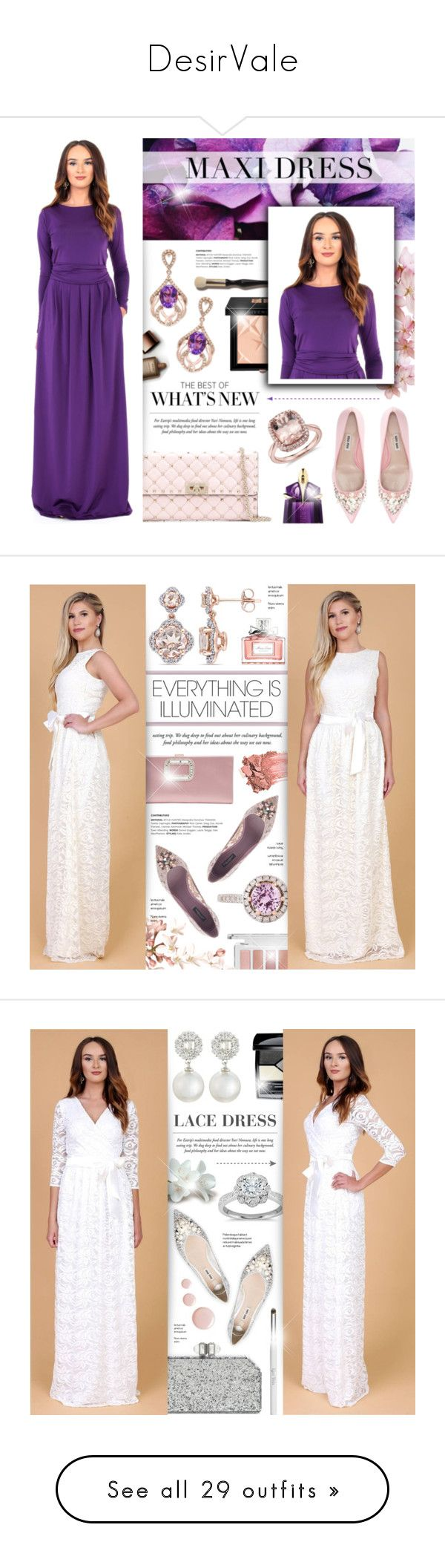 """""""DesirVale"""" by anyasdesigns ❤ liked on Polyvore featuring DesirVale, Effy Jewelry, Nude by Nature, Givenchy, Valentino, Miu Miu, Thierry Mugler, plus size dresses, Amour and Dolce&Gabbana"""