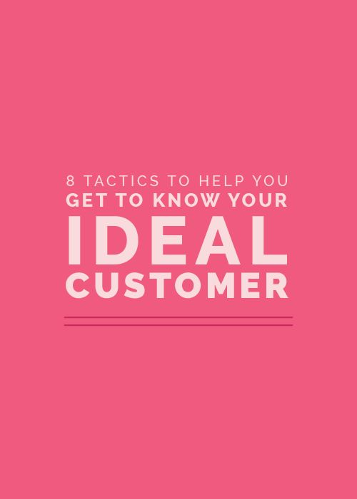 Getting to know your ideal audience can greatly affect your profits.