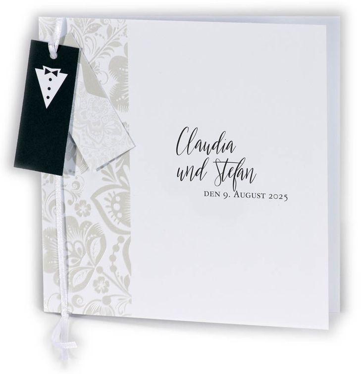 21 besten Elegante Hochzeits Einladungskarten Bilder auf Pinterest