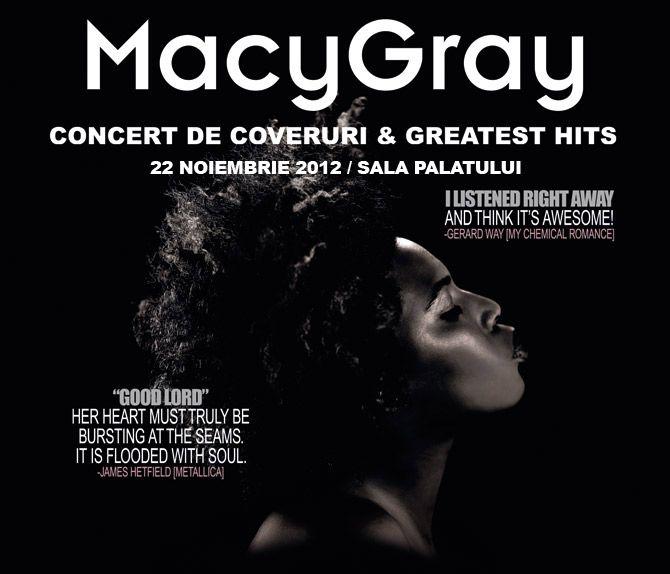 Castiga invitatii la concertul Macy Gray!