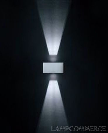 #Ares #Zelda bidirectional 40° beam wall lamp Design Gigetto