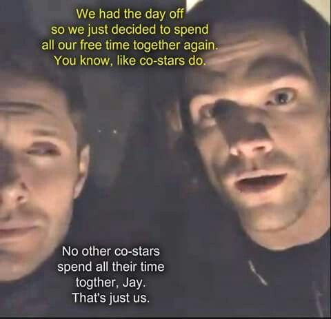 Jared and Jensen; brothers from another mother <3