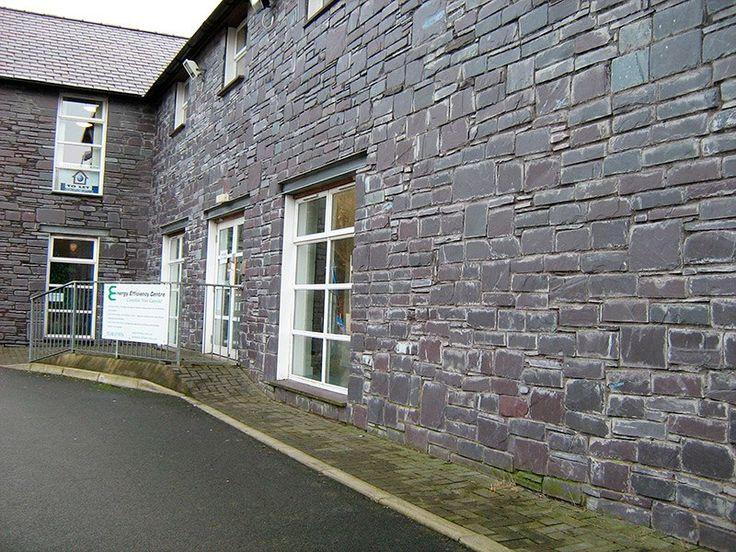 Каменный фасад из сланца Welsh Slate Penrhyn
