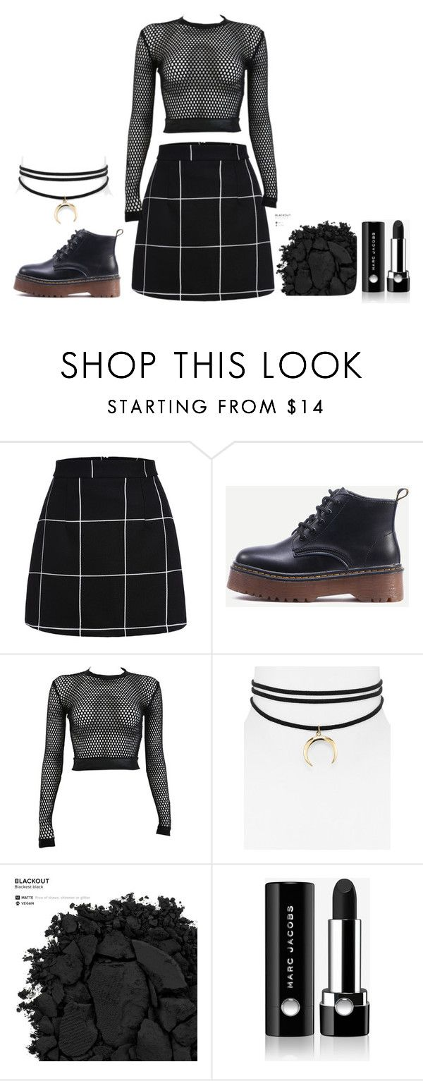 """""""Grunge feels"""" by ifrancesconi on Polyvore featuring PAM, Jules Smith, Urban Decay and Marc Jacobs"""
