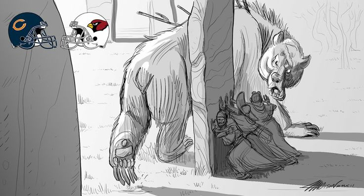 Pixar Animator Recaps The NFL Season In The Best Way Possible - Bears vs. Cardinals
