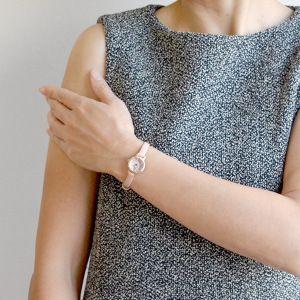 【限定400本ミニハンドクリーム付き】ジルスチュアートJILLSTUARTTIME腕時計ファセットジェムレザーモデルピンクゴールド×ピンクNJ0Z701正規品送料無料