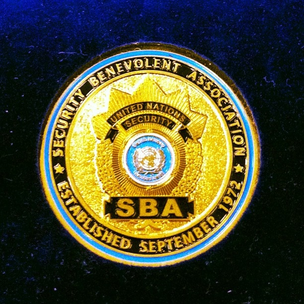 Challenge Coins we did for the United Nations. Challenge