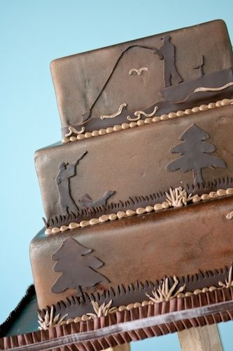 Grooms cake: duck hunting, deer hunting, and fishing!?!