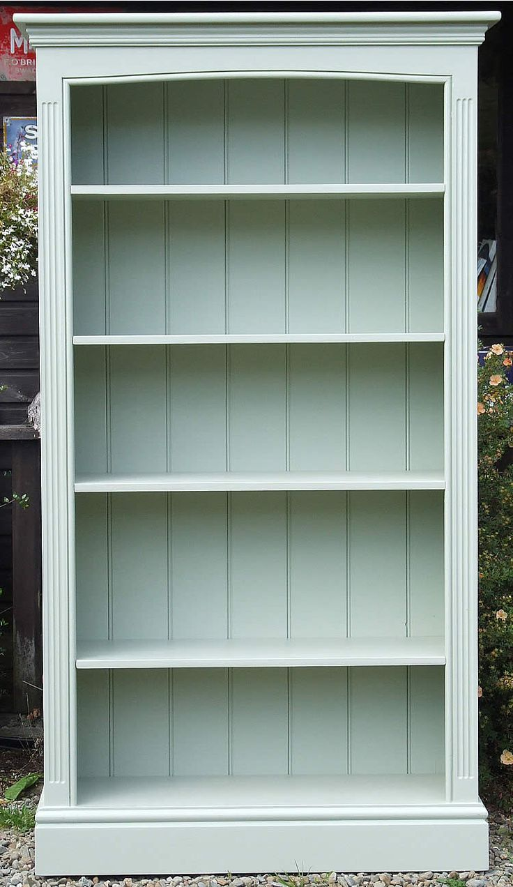 25 Best Ideas About Painted Bookshelves On Pinterest