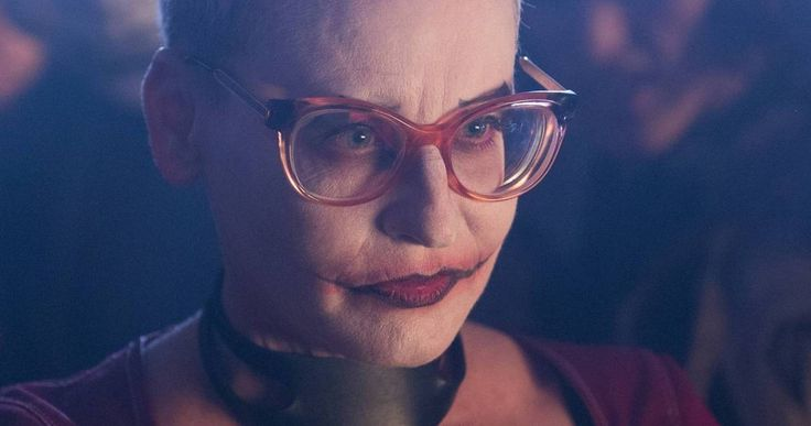 Female Joker Revealed in 'Gotham' Season 2 Photos -- New photos from Monday's episode of 'Gotham' give us our first look at the female Joker played by Lori Petty. -- http://movieweb.com/gotham-season-2-female-joker-lori-petty/