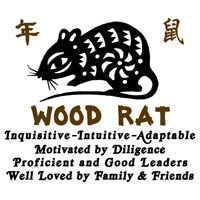 Chinese Zodiac Wood Rat T-Shirt : T-Shirts Sweatshirts and Gifts