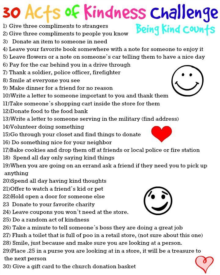 Kindess Challenge More