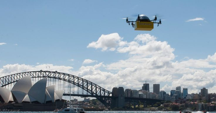 Drone Service Delivers Textbooks to Students in Minutes