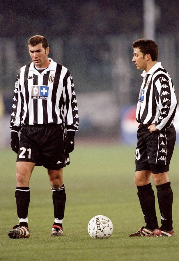 Zidane - Del Piero