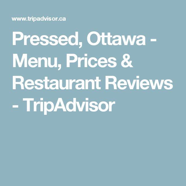 Pressed, Ottawa - Menu, Prices & Restaurant Reviews - TripAdvisor