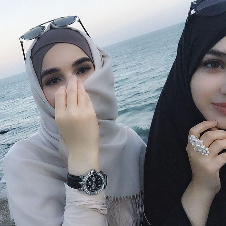 Картинка на аву в инстаграм для девушек без лица мусульманки