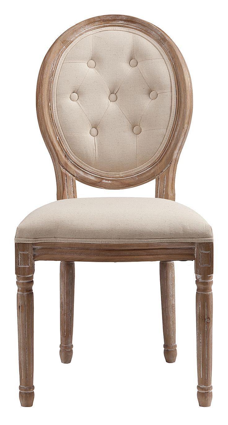"""""""Стул Maurice — модель без подлокотников, в классическом стиле, предназначена для столовой или кабинета. Стул на деревянном каркасе с округлой спинкой. Возможны различные варианты отделки и обивки. Купите стулья Maurice для всей семьи — они непременно понравятся всем.""""             Метки: Кухонные стулья.              Материал: Ткань, Дерево.              Бренд: DG Home.              Стили: Классика и неоклассика.              Цвета: Бежевый."""