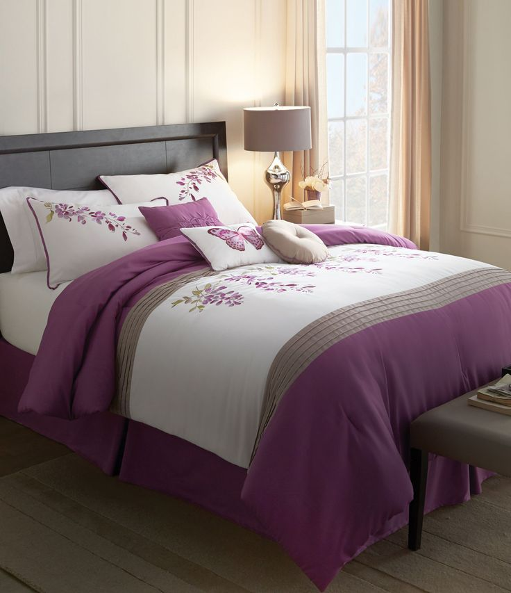 wholeHome®/MD 'Wisteria' 7-Piece Comforter Set