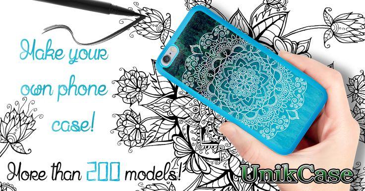 PERSONALIZE YOUR CELL PHONE CASE! MORE THAN 200 MODELS! _____ www.UnikCase.com _____ #Canada #art #Promo #Creation #UnikCase #Etui  #Cellulaire #Phone #Case #Unique #Unik #mandala #draw #drawing #black #white #blue #pen #paper #hand #imagination #creation #Android #Amazone #Google #iPhone #Samsung #Blackberry #iPad #Nokia #Nexus #Htc #huawei  #LG #Motog #Motoe #Motox #Motorola #Sony #Xperia