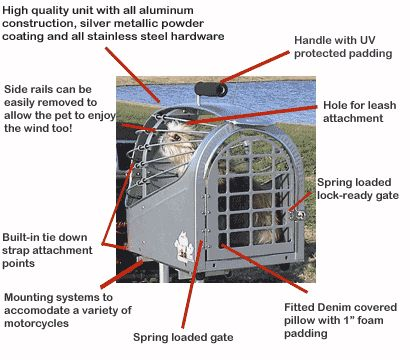 6e7533ee0fa motorcycle pet carrier | ... On Your Motorcycle from Bikes in the ...