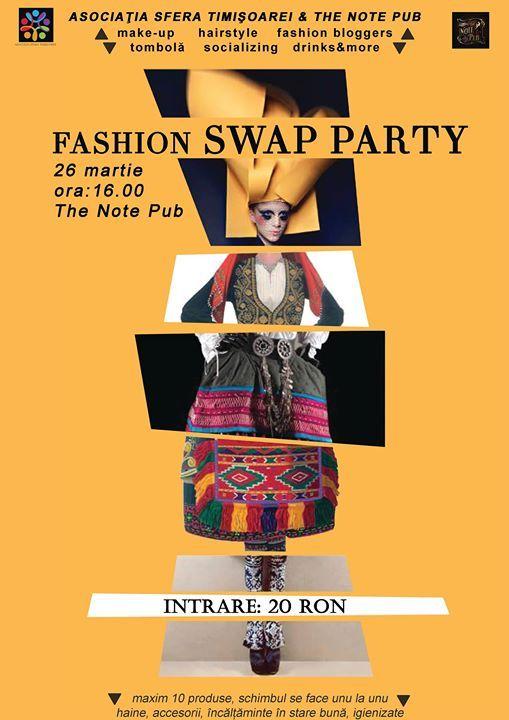 Hello Fashionistas, Sfera Timișoarei vă așteaptă sâmbătă, 26 martie începând cu orele 16 la un party cu iz glamour. Noua locație aleasă va fi anul acesta T