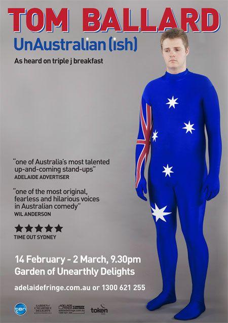 Tom Ballard - UnAustralian(ish) - comedy @ The Garden #adlfringe #GOUD #gardenofud #adelaide