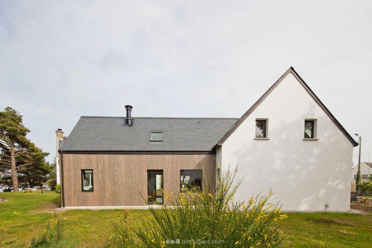 La Construction Neuve D Une Maison Dans Le Finistere Avec Une