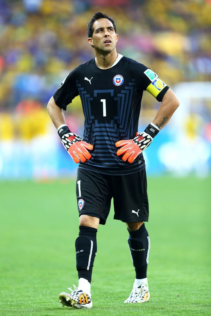 Claudio Bravo. Chile national team.