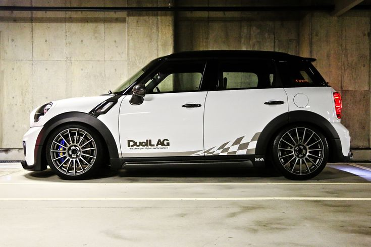 """Superturismo LM 17"""" on Mini Cooper Countryman All4 by Duell AG from Japan #mini"""