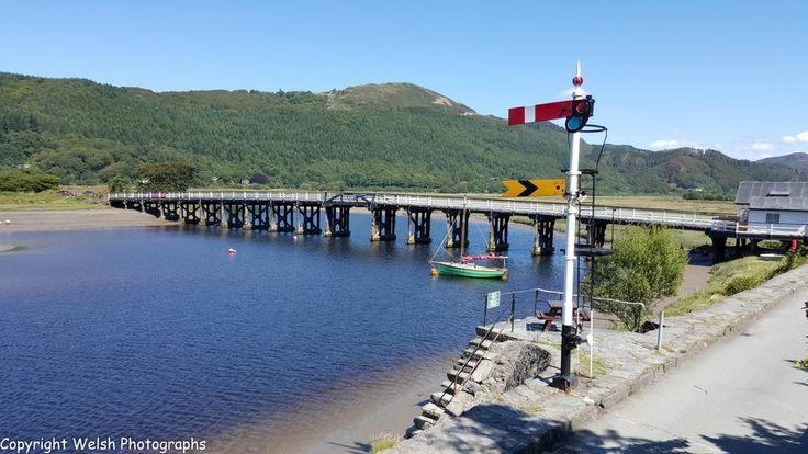 Toll bridge - Penmaenpool,Gwynedd,Wales. #Wales #photography #Bridge