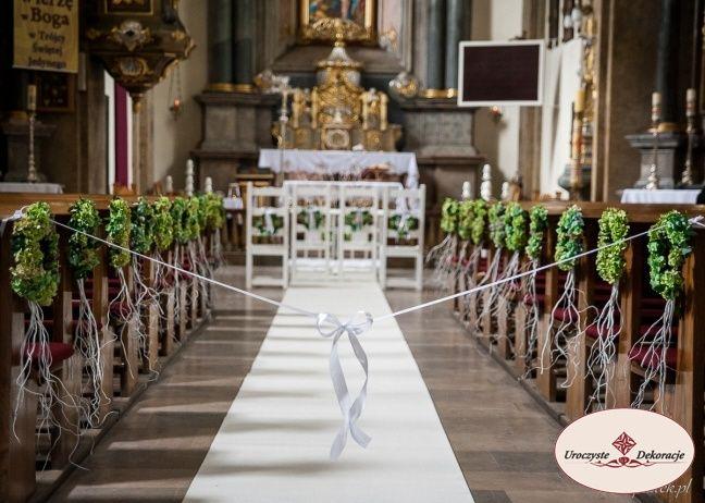 Decoration of churches.Dekoracje kościołów,dekoracja kościoła na ślub