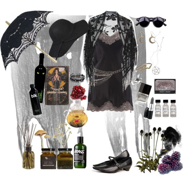 """Summer Witch"" by morbid-octobur on Polyvore"