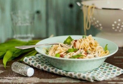 Medvehagymás spagetti | NOSALTY – receptek képekkel