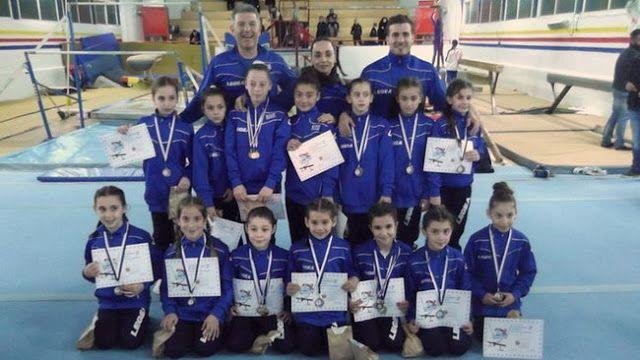 Σάρωσε τα μετάλλια ο Όμιλος Ενόργανης Γυμναστικής Αλεξανδρούπολης