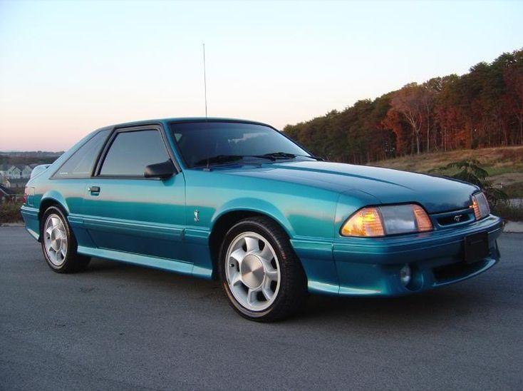 1993 Mustang Cobra SVT...