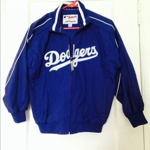 Dodgers Windbreaker Youth's Medium