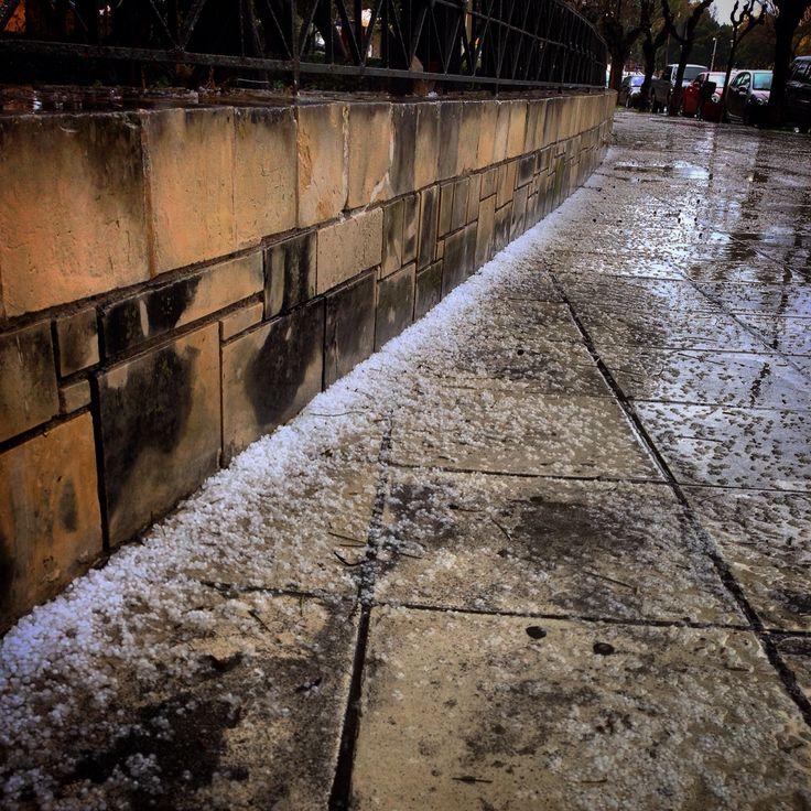 Heraklion Crete raining