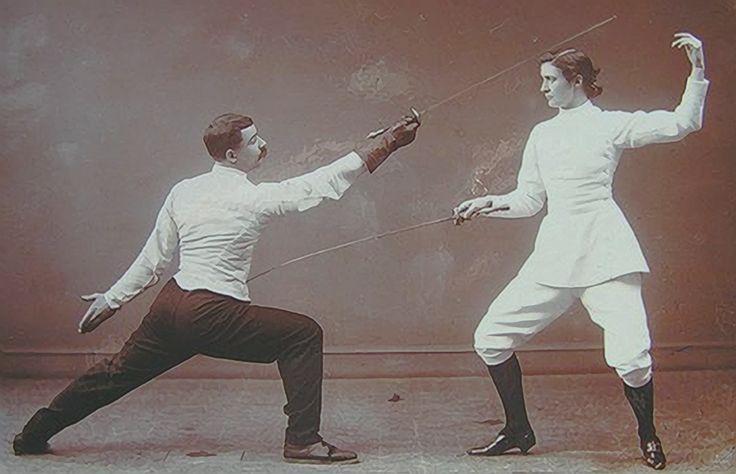 z- Fencing Class (Man & Woman)