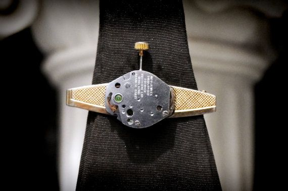 Steampunk BDSM men's Tie Clip luxury wedding от SteampunkBDSM