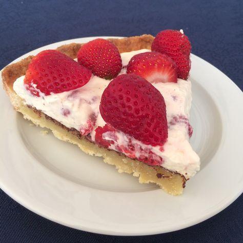 Michelinkage - eller bare verdens bedste jordbærtærte