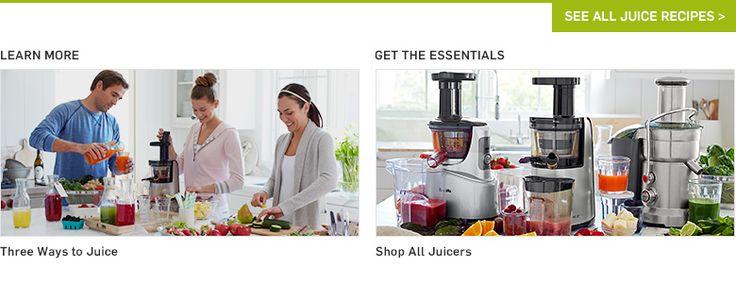 Juicing, Juice Recipes & Healthy Juices | Williams-Sonoma